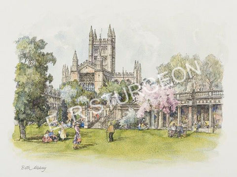 Bath Abbey, Somerset-Vignette