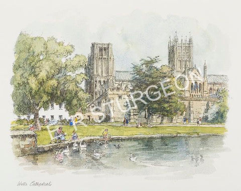 Wells Cathedral, Somerset-Vignette