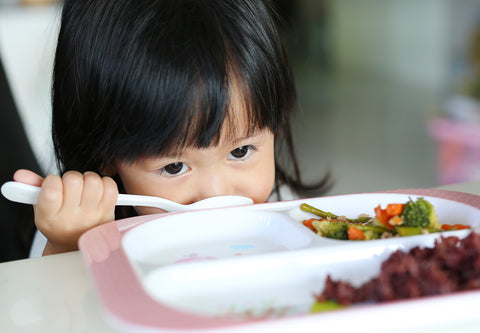 Child Refusing to Eat Vegetables