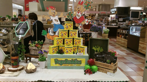 Vegebuddies in Takashimaya Singapore