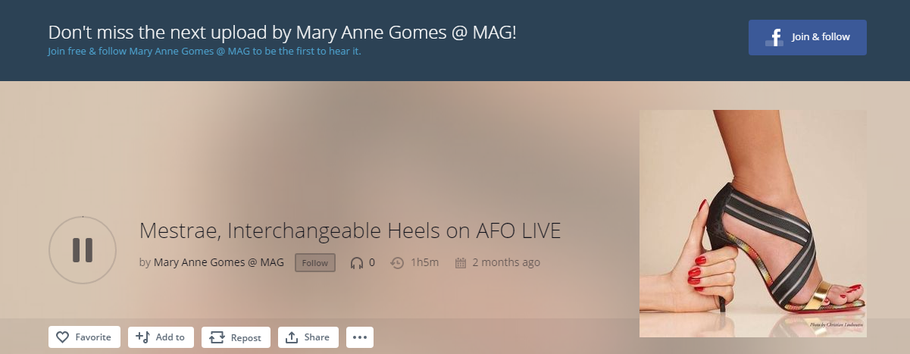 Mestrae, Asia's 1st Interchangeable Heels on AFO LIVE