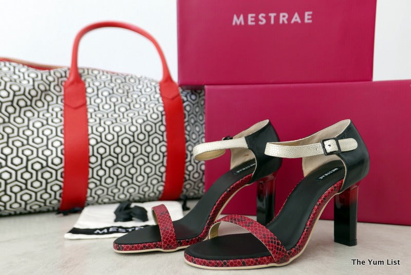 Pack Like an Expert, Mestrae, Shoes with Interchangeable Heels, 3 Pairs in 1 by The YumList