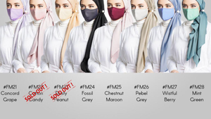 Cloth Face Mask - 300 pieces per pack