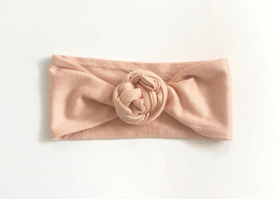 How to tie a Rose Knot using your mama Top Knot