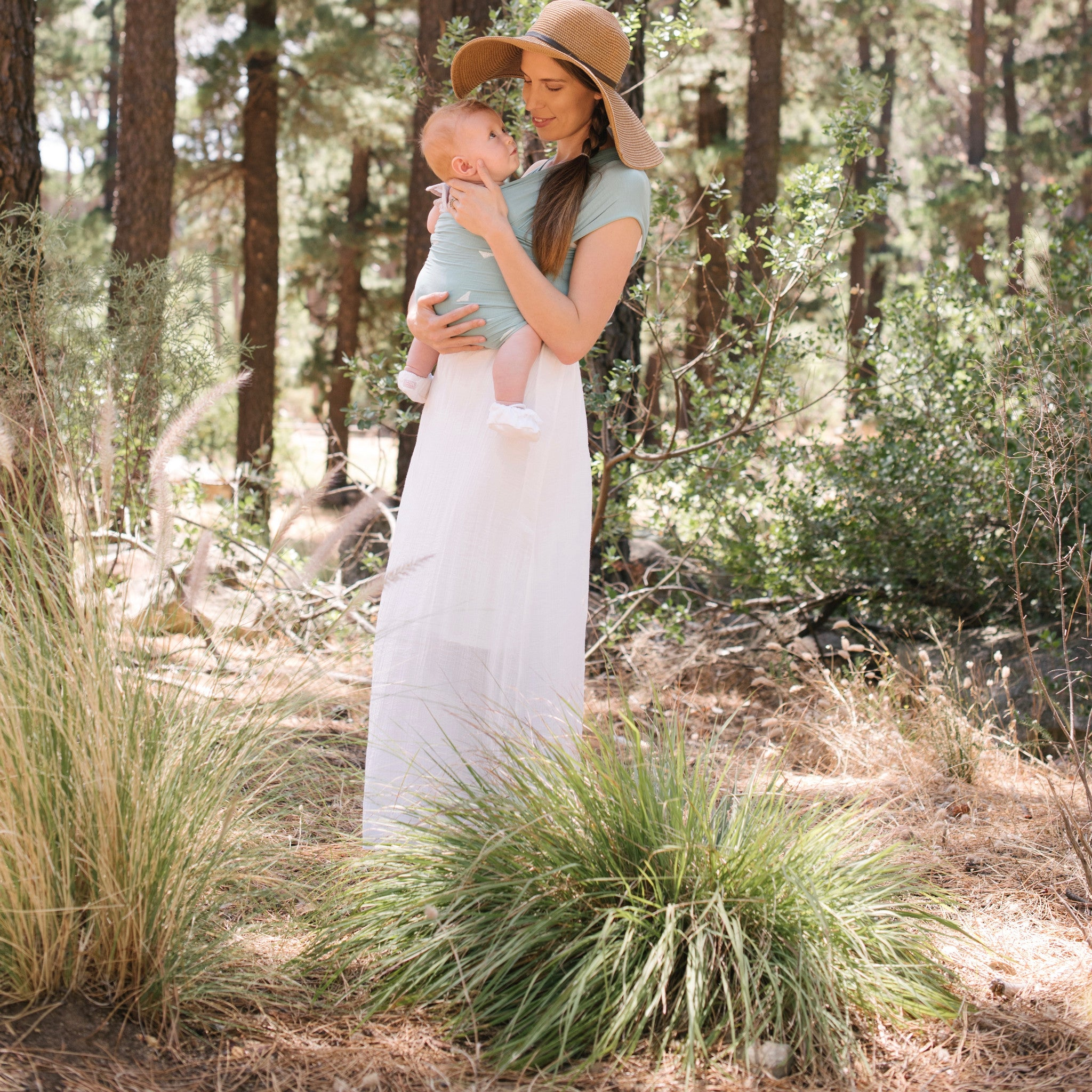 The best baby carrier sling Fornessi wrap Carry Me eco friendly