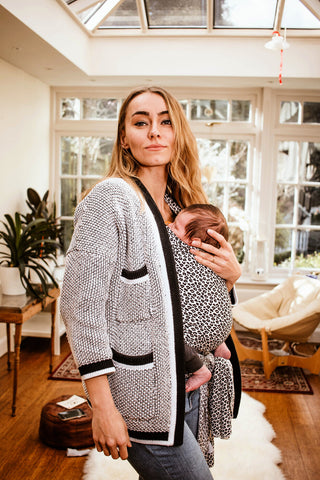 Leopard Fornessi baby carrier