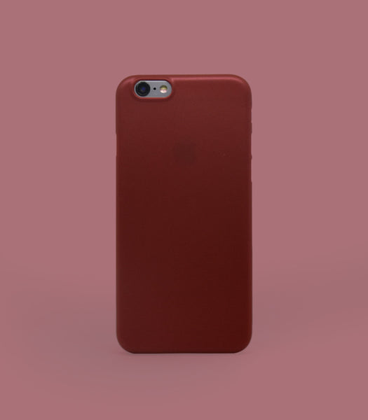 Dodo Air iPhone 6/6S Case - Red Metal