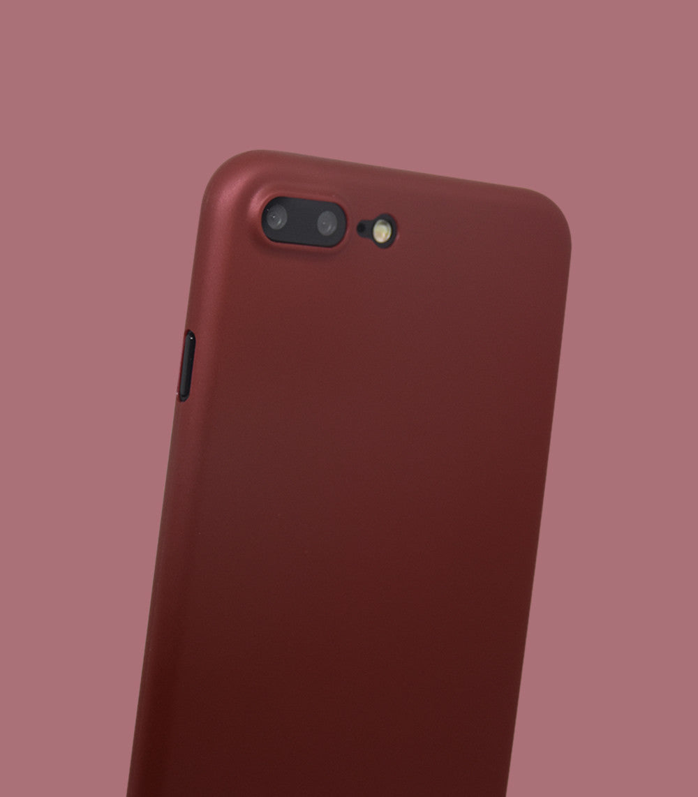 Dodo Air iPhone 7 Plus Case - Red Metal