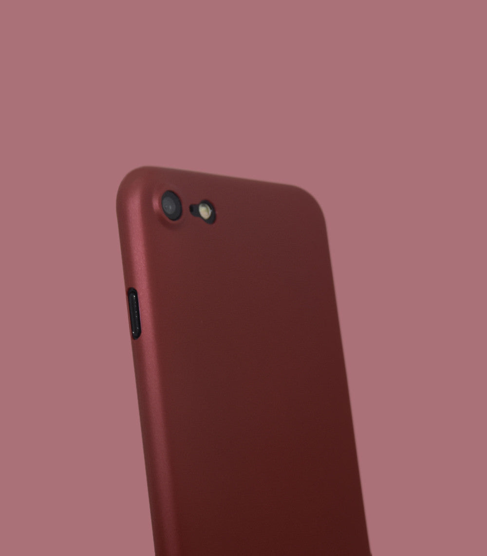 Dodo Air iPhone 7 Case - Red Metal