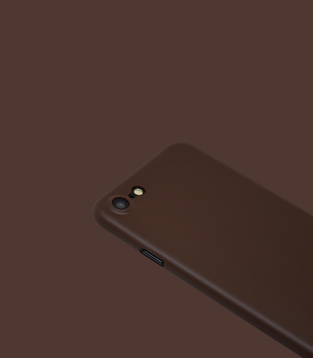 Dodo Air iPhone 7 Case - Chocolate Brown