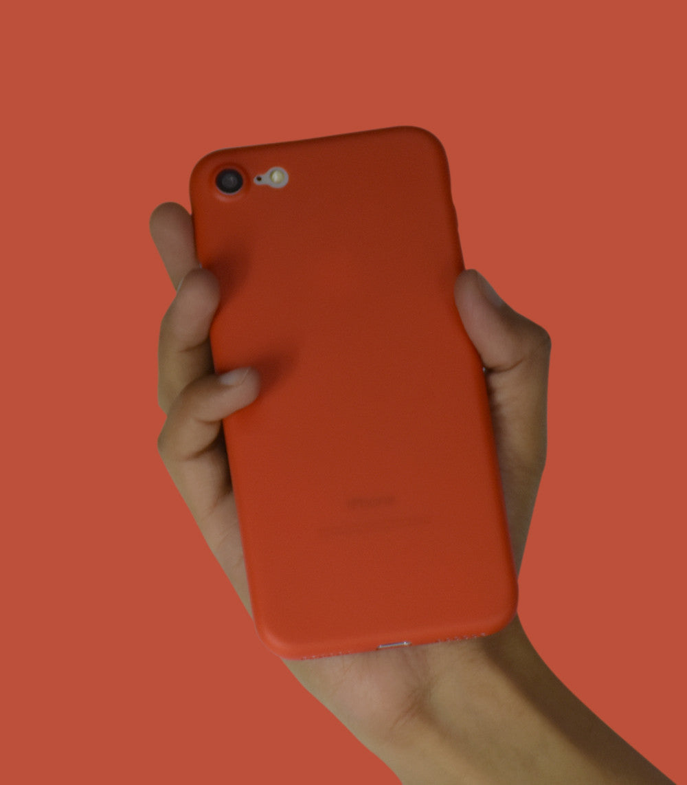 Dodo Air iPhone 7 Case - Tangerine Tango