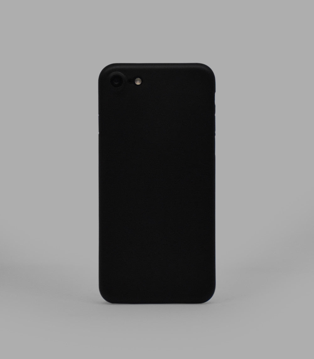 Dodo Air iPhone 7 Case - Classic Black (Solid)