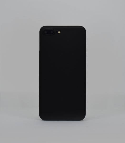 Dodo Air iPhone 7 Plus Case - Classic Black (Solid)
