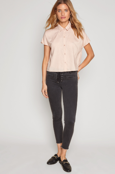 Rose Stunner Top