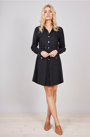 Advent Dress - Navy