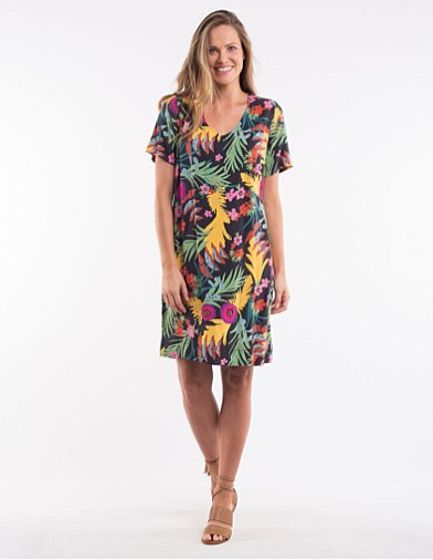 Tahiti Fusion Shift Dress