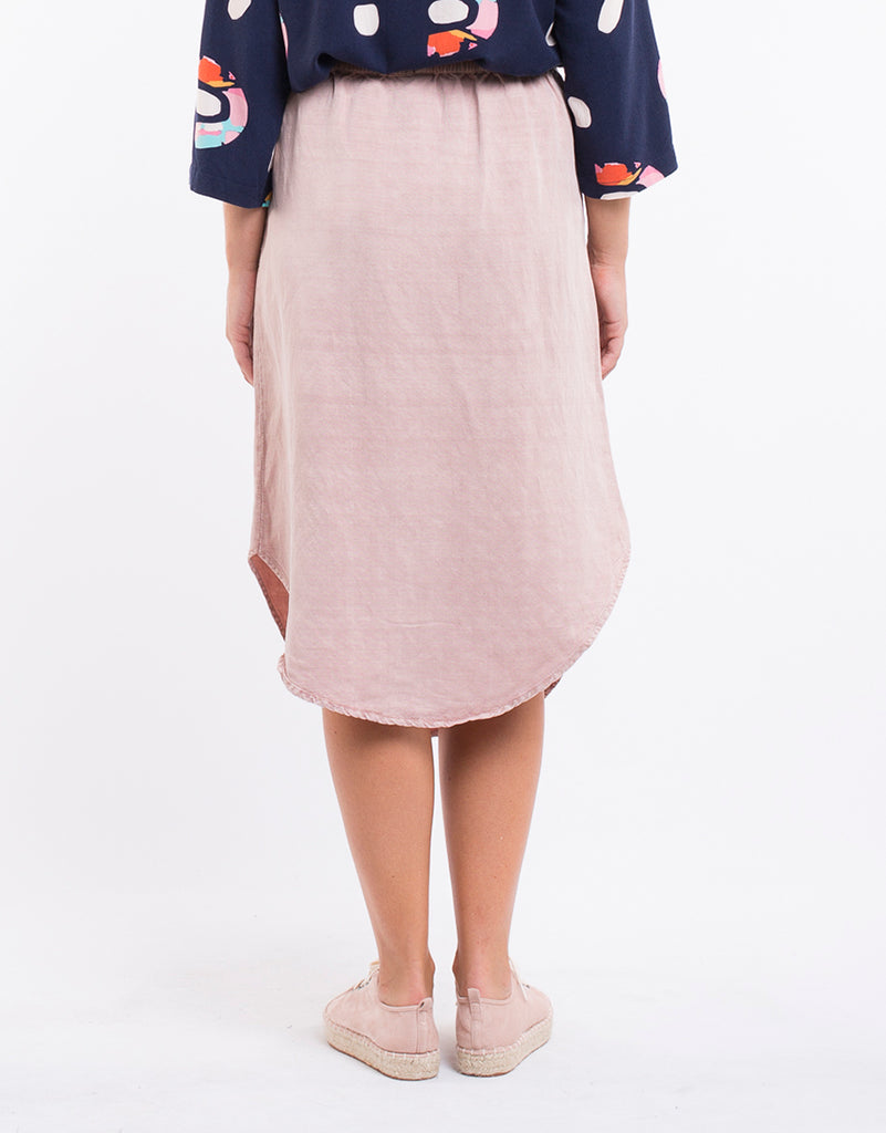 Hazel Skirt - Washed Pink