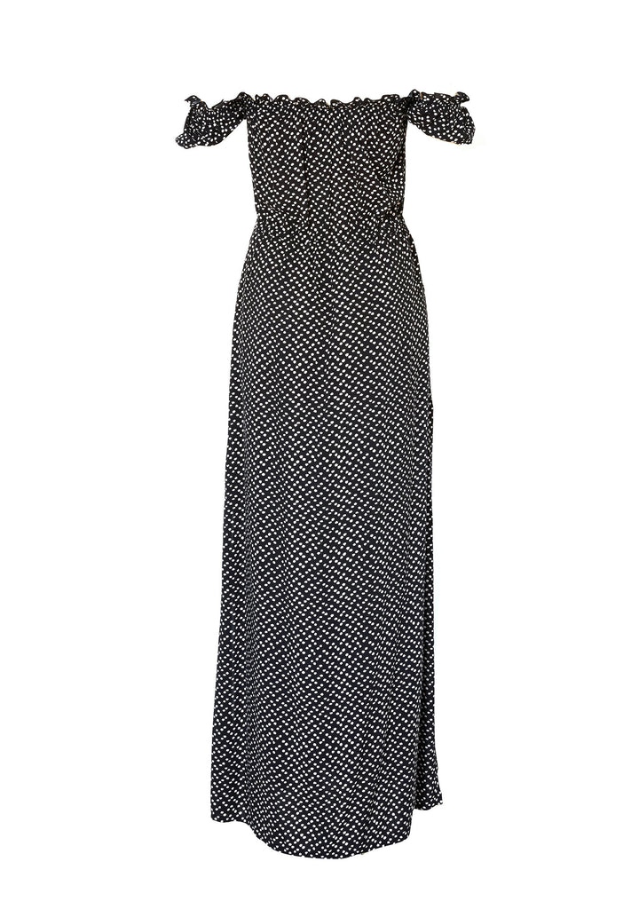 Stevie Maxi Dress - Penelope Polka Dot