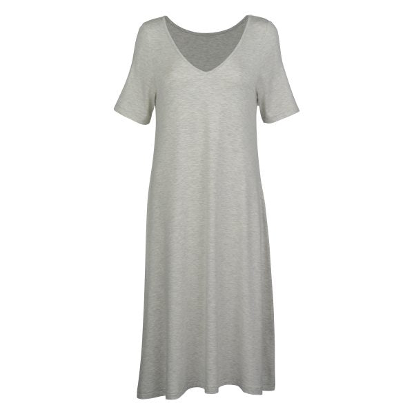 Madonna Dress - Grey Marle
