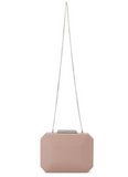 Tequila Simple Saffiano Clutch - Natural