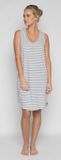 Harper Dress - Black Stripe