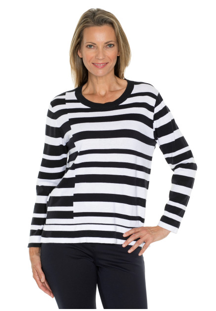 Stripe Panel Jumper
