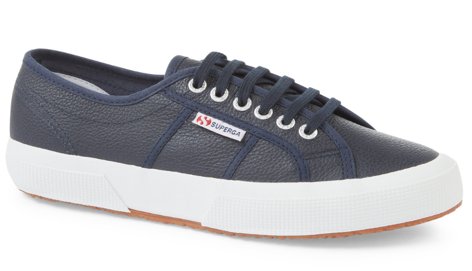 Cotu Superga Leather - Navy