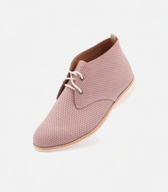 Chukka Pin Punch - Blush