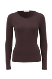 Merino Boat Neck Top