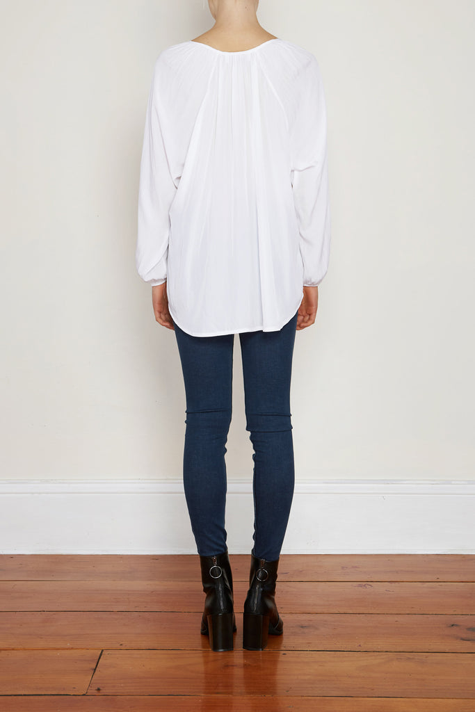 Torie Top - White