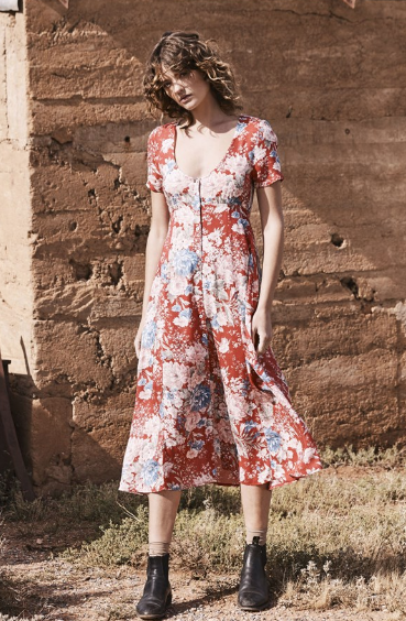 Alice Day Dress - Francis Floral