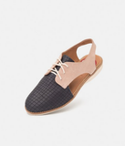 Rollienation Slingback - Navy/Blush