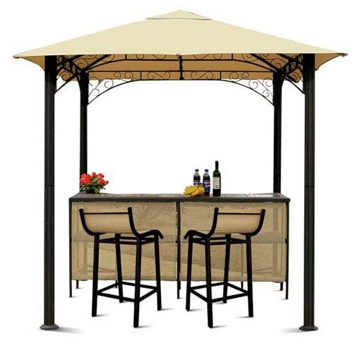 Canopy for The Range 2.4m x 2.4m Rome Barzebo Patio Gazebo - Single Tier