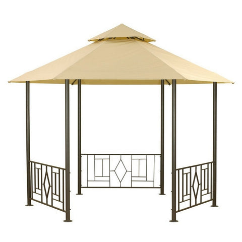 Canopy for 3.5m Hexagonal Patio Gazebo - Two Tier