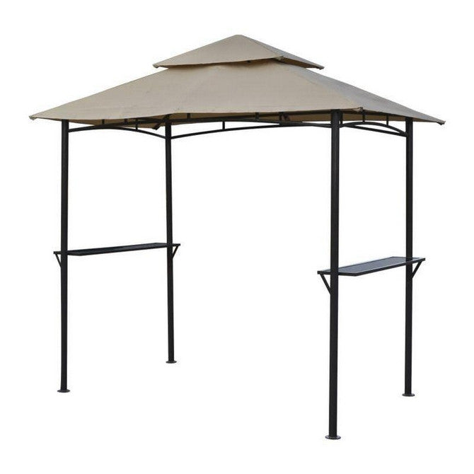 Canopy for 2.5m x 1.5m B&Q Rowlinson Roma BBQ Patio Gazebo 5013856996194