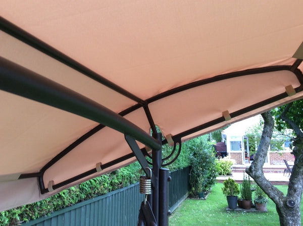 Canopy For Curved Swing Hammock 195cm X 113cm Gazebo