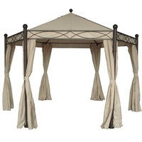 Side Panel Set for 4m Hexagonal Patio Gazebo - Set of 6