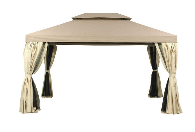 Camelot Pavilion 3m x 4m Patio Gazebo Replacement Canopy CAM0331 (CAM0984)