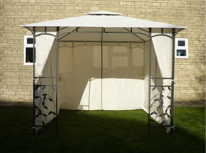 Side Panel Set for 3m x 3m Patio Gazebo - Full Set of 4