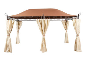 Garden Nation Regency Superior Grand 3m x 4m Patio Gazebo Replacement Canopy CAM0578 (CAM0579)