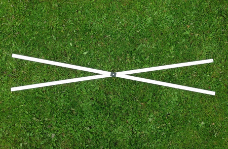 Heavy Duty Cross Bar for commercial and trade pop up gazebos in aluminium