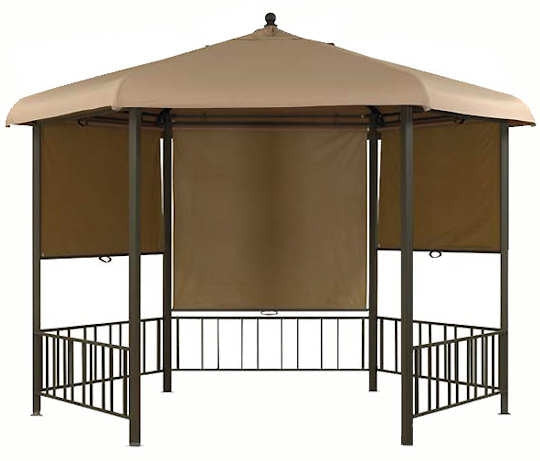 Canopy for 3.3m Hexagonal Patio Gazebo - Single Tier