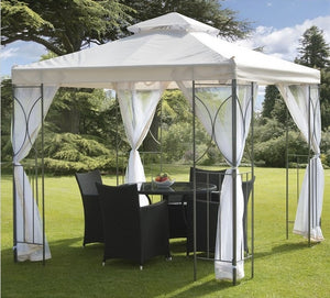 Canopy for Suntime Polenza 2.5m x 2.5m Patio Gazebo