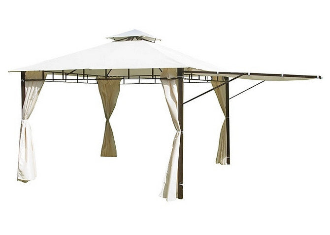 John Lewis Suntime Casablanca 3m x 3m Extending Patio Gazebo Replacement Canopy 81870609