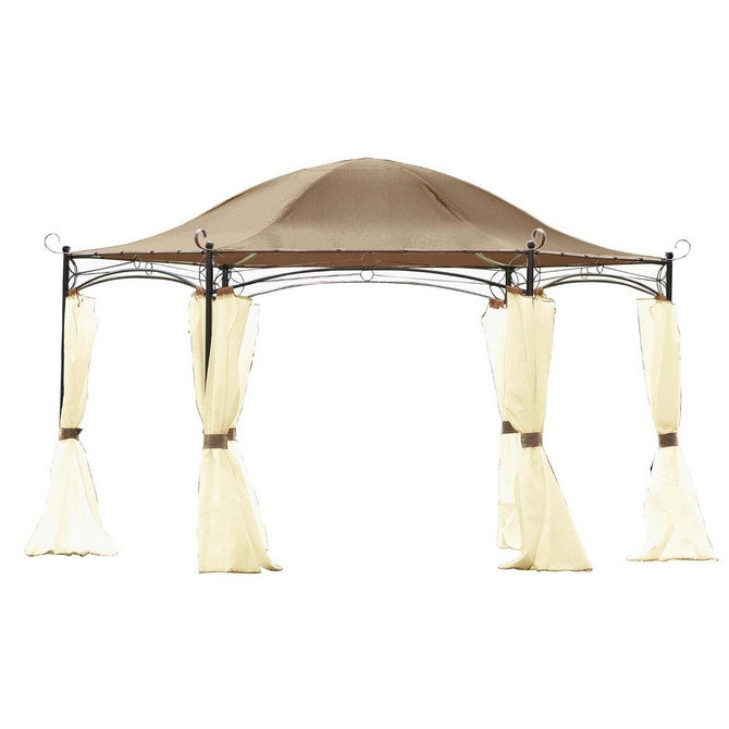 Canopy For 4m Hexagonal Patio Gazebo Single Tier