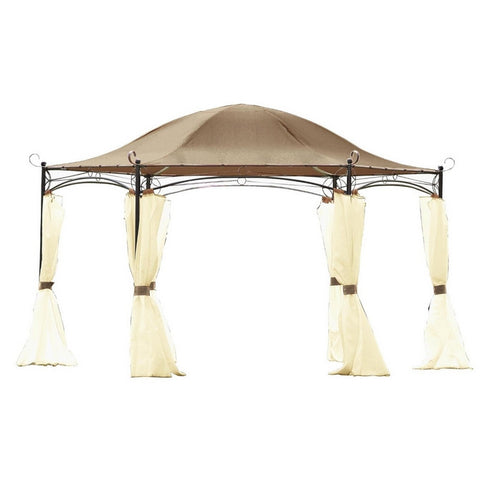 Canopy for 4m Hexagonal Patio Gazebo - Single Tier