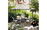 Homebase Lucca 3m x 3m Steel Leaf Patio Gazebo Replacement Canopy 917056 059245