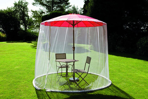 Parasol Mesh Screen - 3m Parasol or Smaller