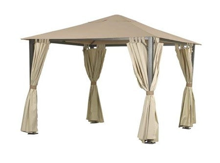 Side Panel Set for 3m Square Patio Gazebo -  Set of 4