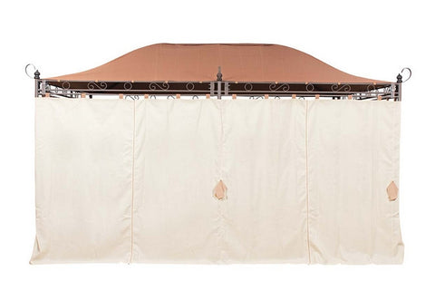 Side Panel Set for 3m x 4m Patio Gazebo - Set of 6
